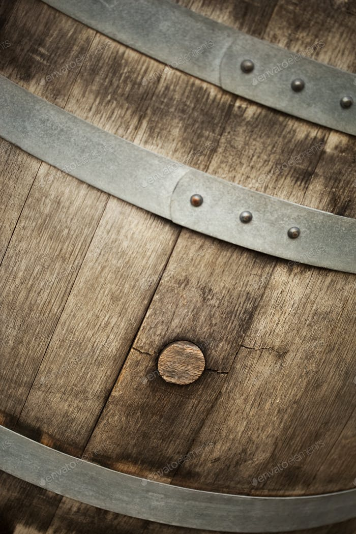 Close up of a barrel
