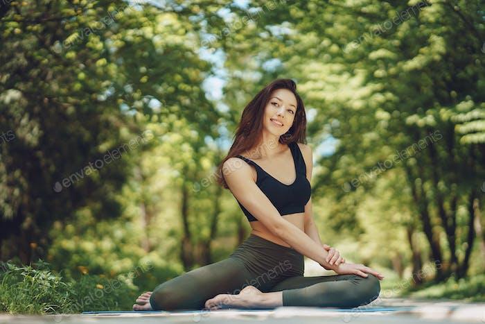 Yoga Mädchen