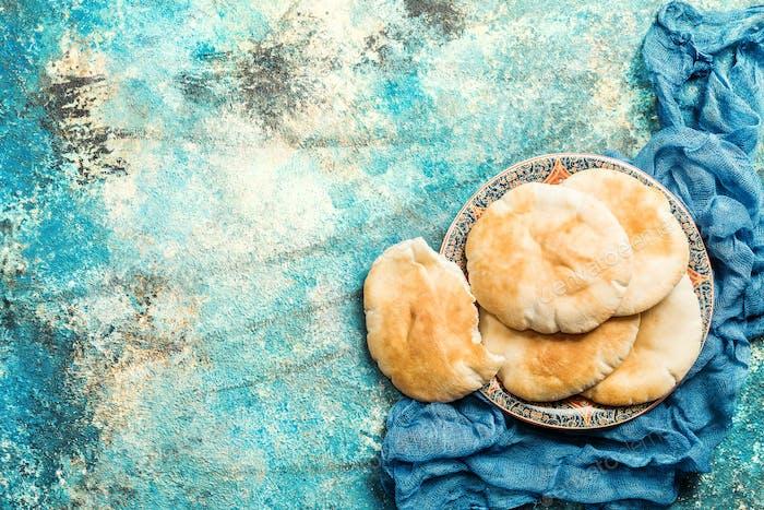 Pita o pan árabe
