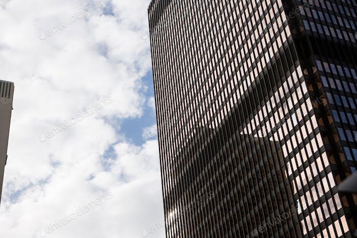 Vista del edificio de oficinas