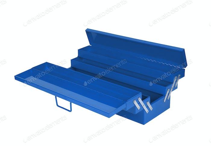 blau Werkzeugkiste