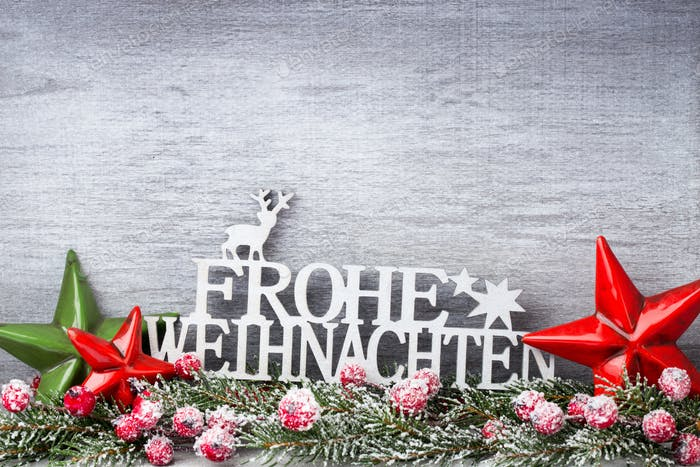 Christmas decor. Christmas greeting card. Symbol xmas.