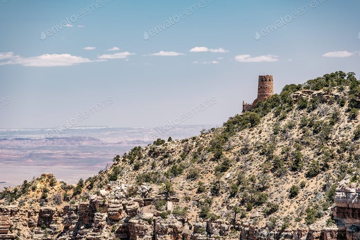 Watchtower Over the Grand Canyon