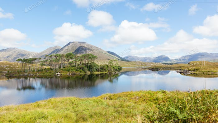 Derryclare Lough in Ireland