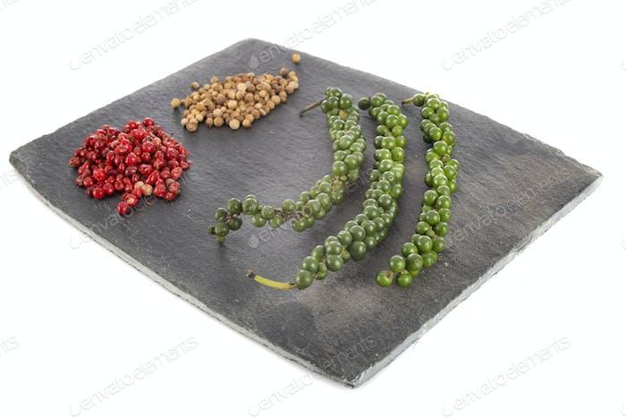 pepper in studio