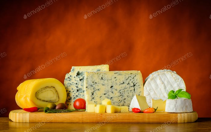 Blue and Soft Cheese