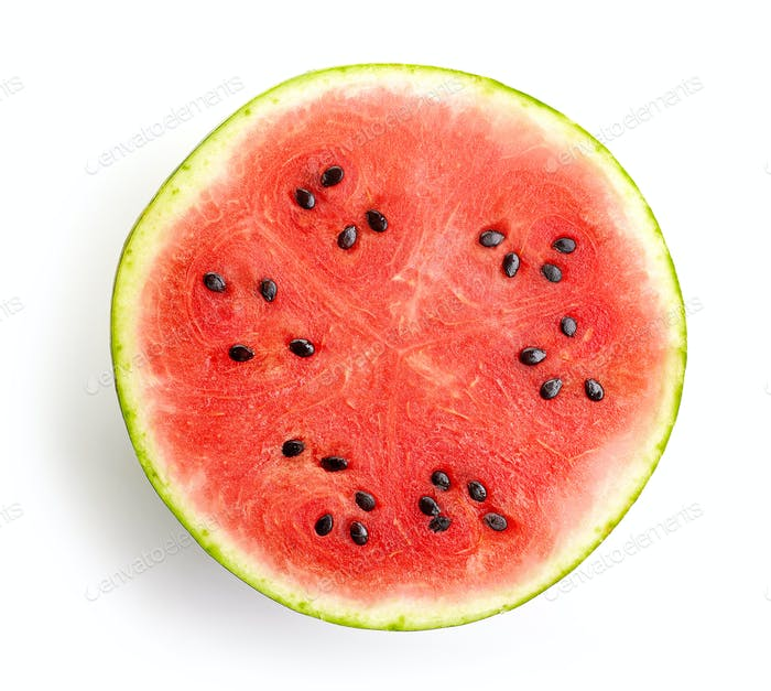 half of watermelon
