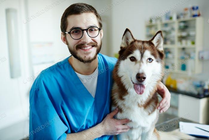 Veterinario y mascotas