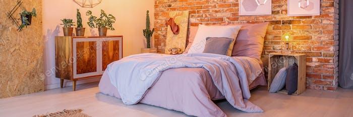 Dormitorio Creativo decorado