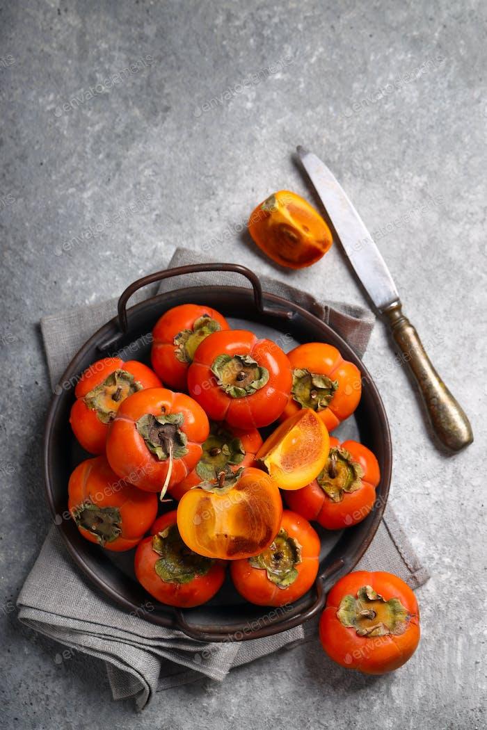 Bio Persimmon Frucht