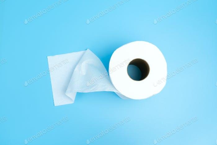 Single toilet paper roll