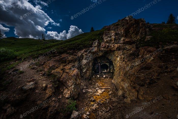 Gold mine Entrance