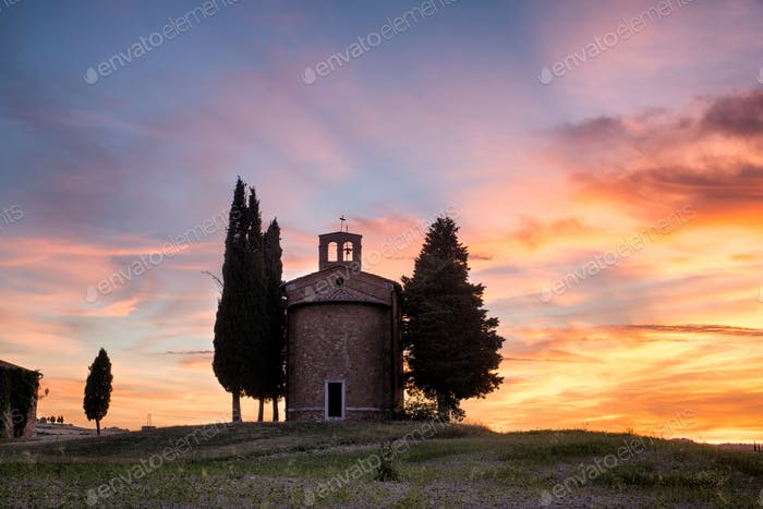 Wunderschöne toskanische Landschaft