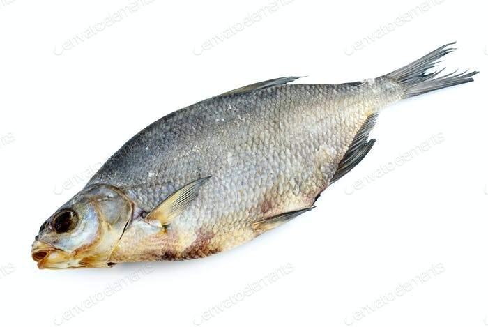 Dried bream fish