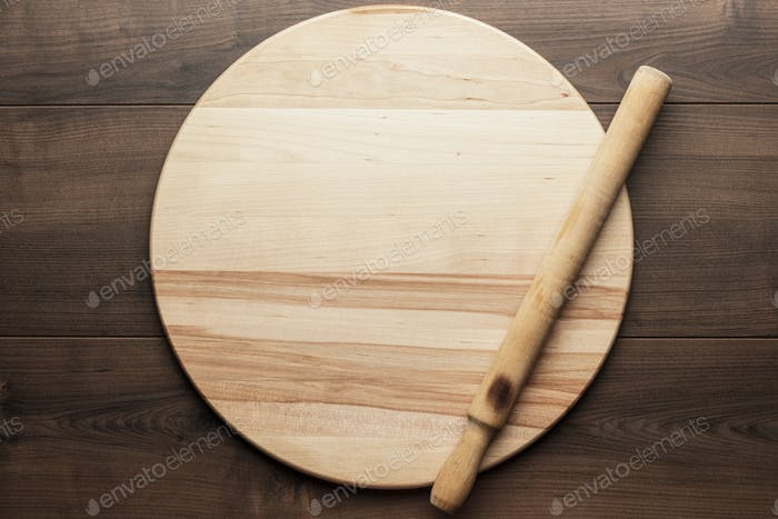 Rolling Pin And Round Board