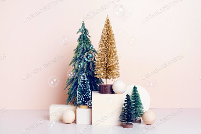 Various Christmas Trees