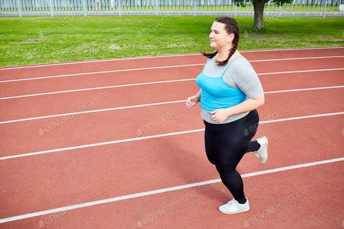 Kampf mit Übergewicht