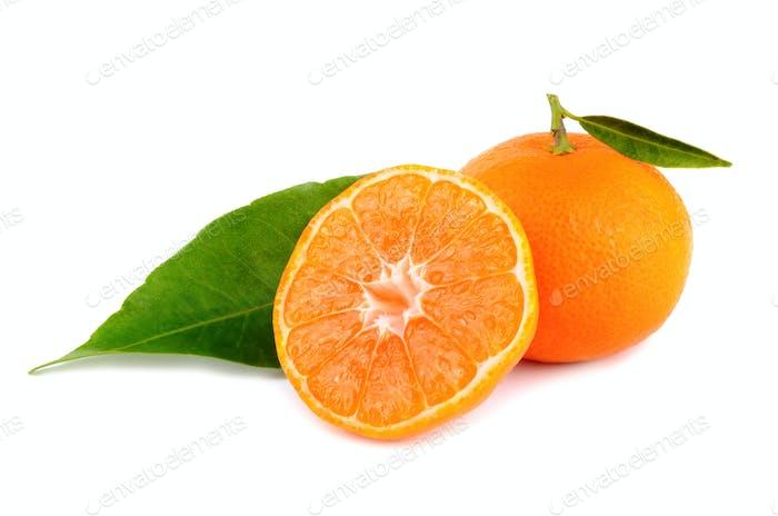 Gelbe Mandarinen