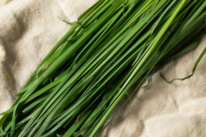 Raw Green Organic Korean Chives
