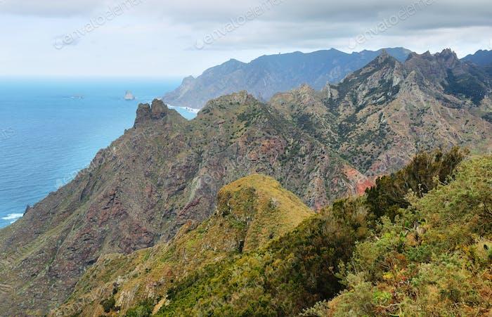 Chinamada, Anaga massif, Tenerife, Canary Islands, Spain.