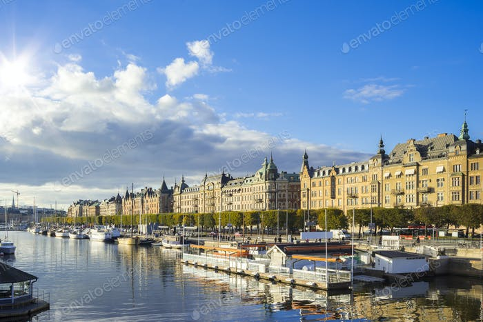 Stockholm capital city of Sweden