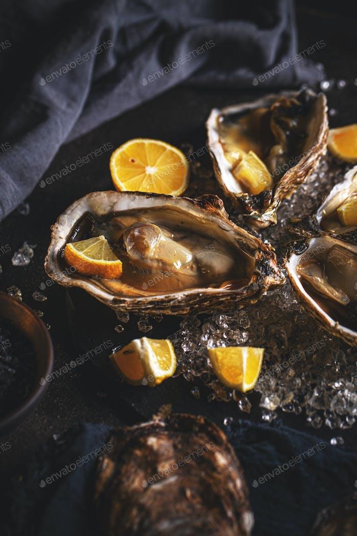 Healthy seafood concept