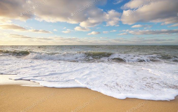 Wunderschöne Wellenlandschaft.