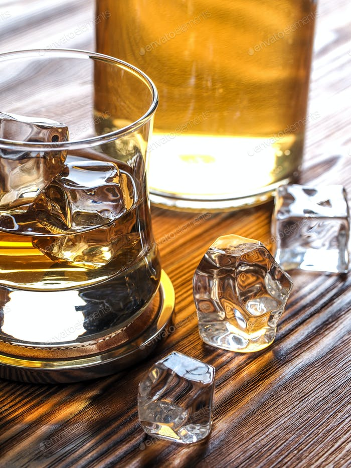 Whisky on the rocks