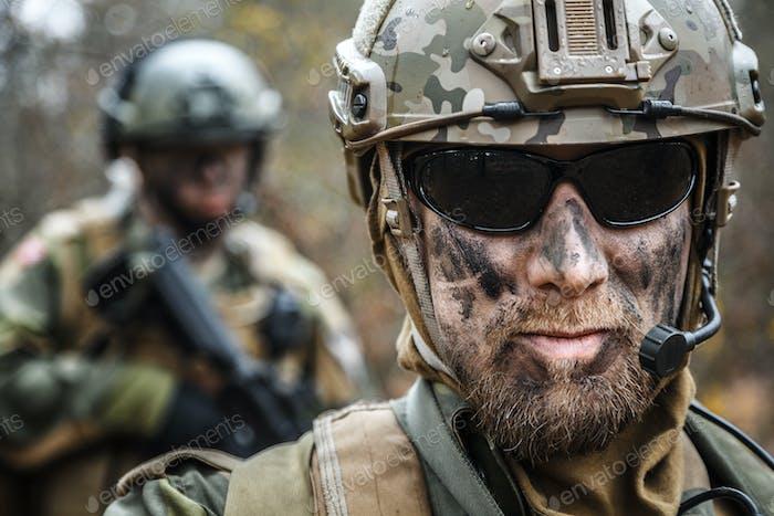 Soldaten der norwegischen Streitkräfte