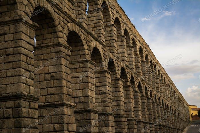 Stone Roman Construction in Spain