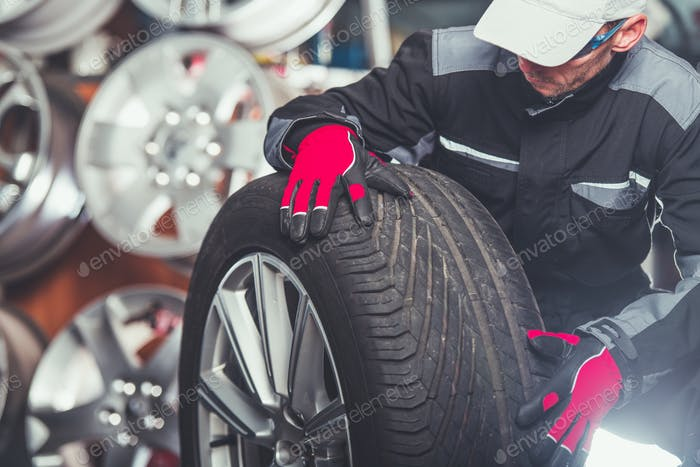 Replacing Car Tires