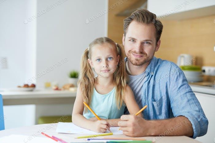Papá e hija