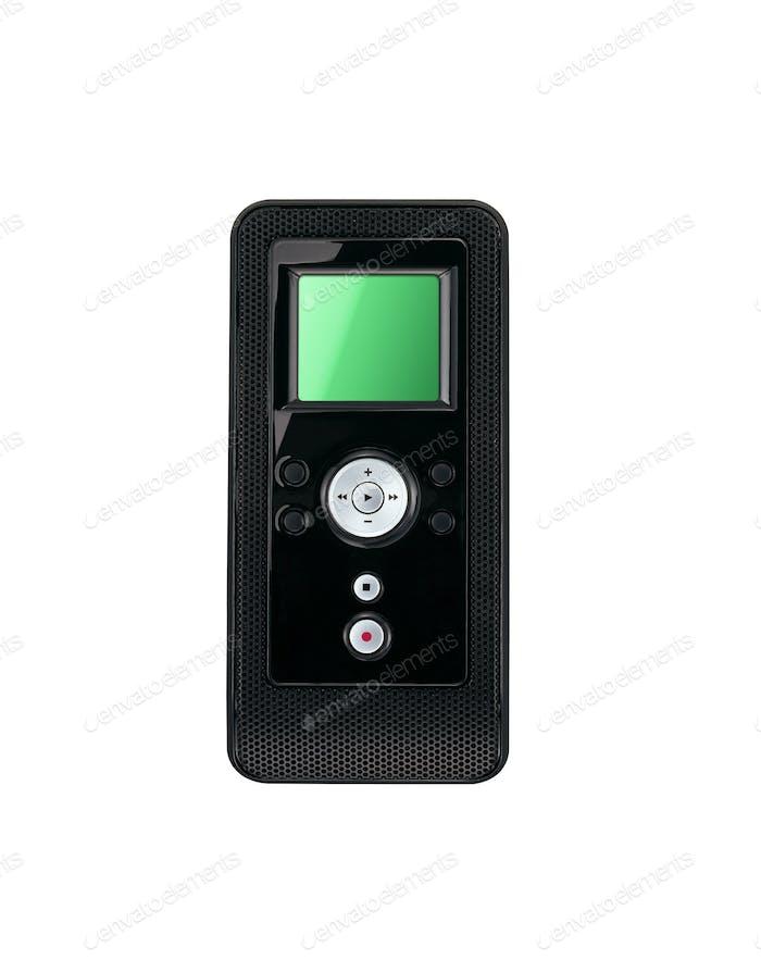 MP3-Player auf weißem Hintergrund isoliert