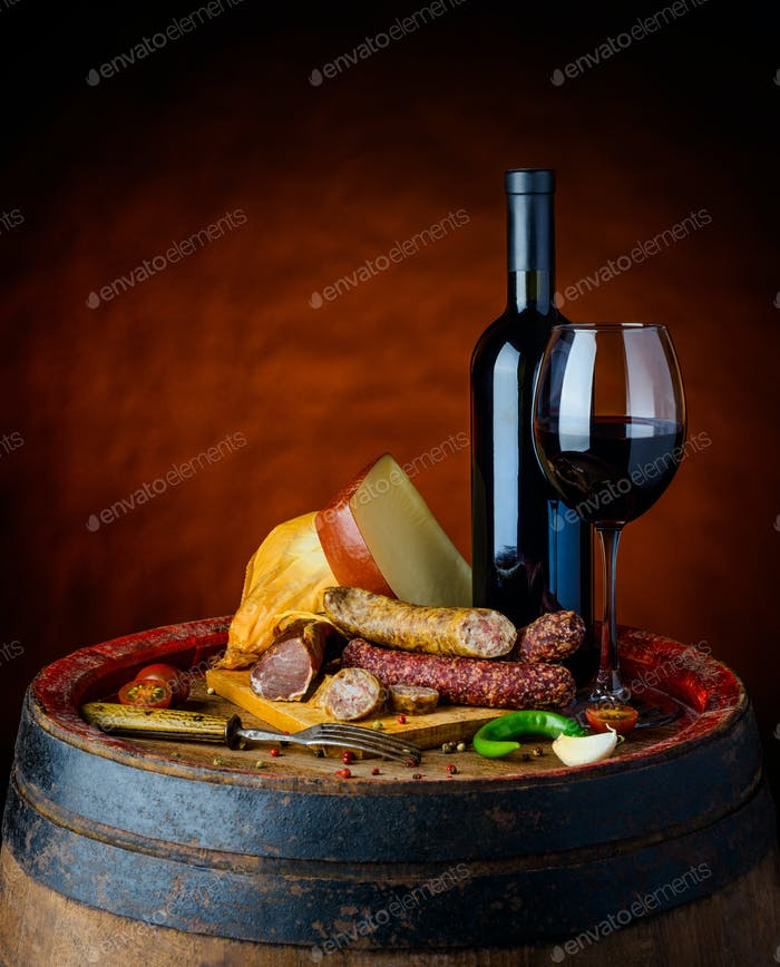 Wine and Rustic Food