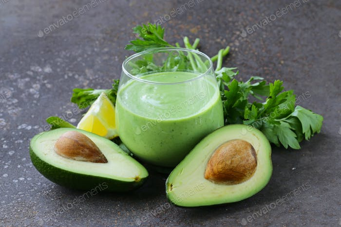 Drink A Smoothie With Avocado