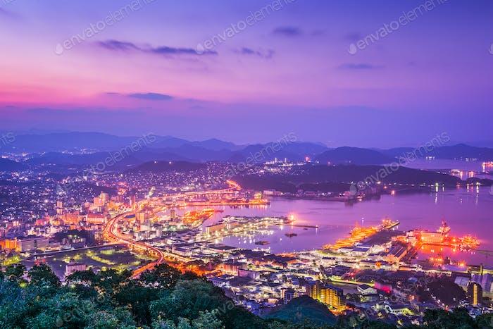 Sasebo Japan Skyline