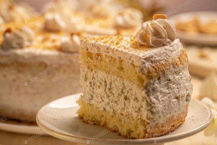Delicious homemade cake