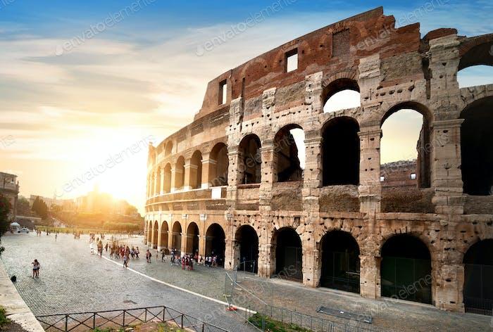 Antikes Kolosseum in Rom