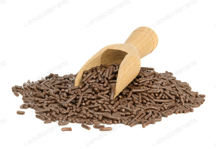 A Heap of Chocolate Sprinkles