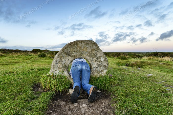 Men-An-Tol in Cornwall