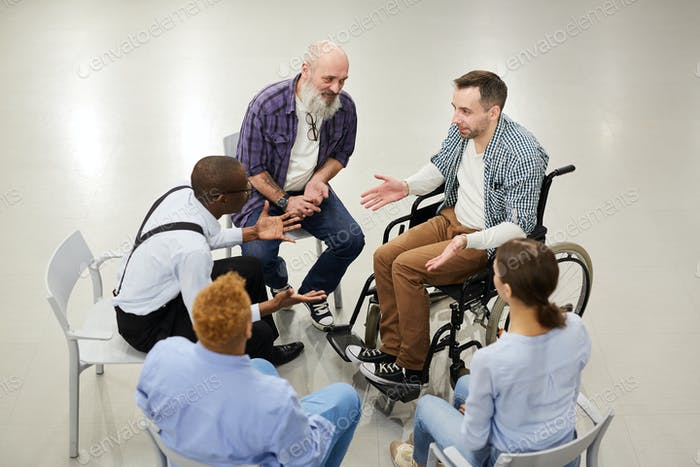 Support Group Circle