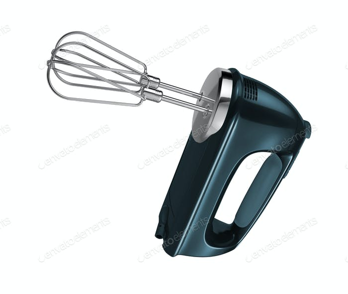 hand mixer isolated