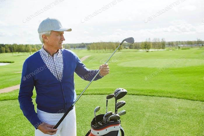 Choosing golf club
