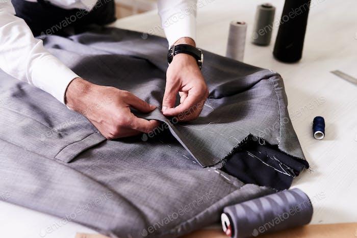 Creation of Stylish Male Jacket