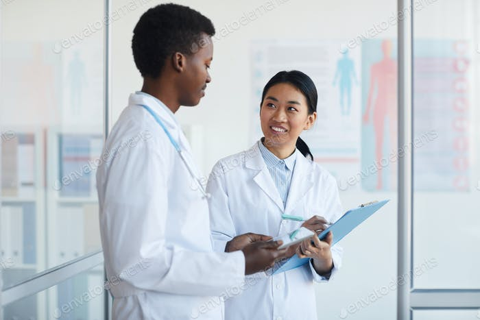 Young Doctors in Clinic