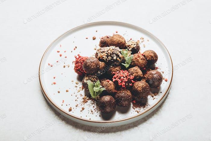 Raw Vegan Truffles or Energy Balls