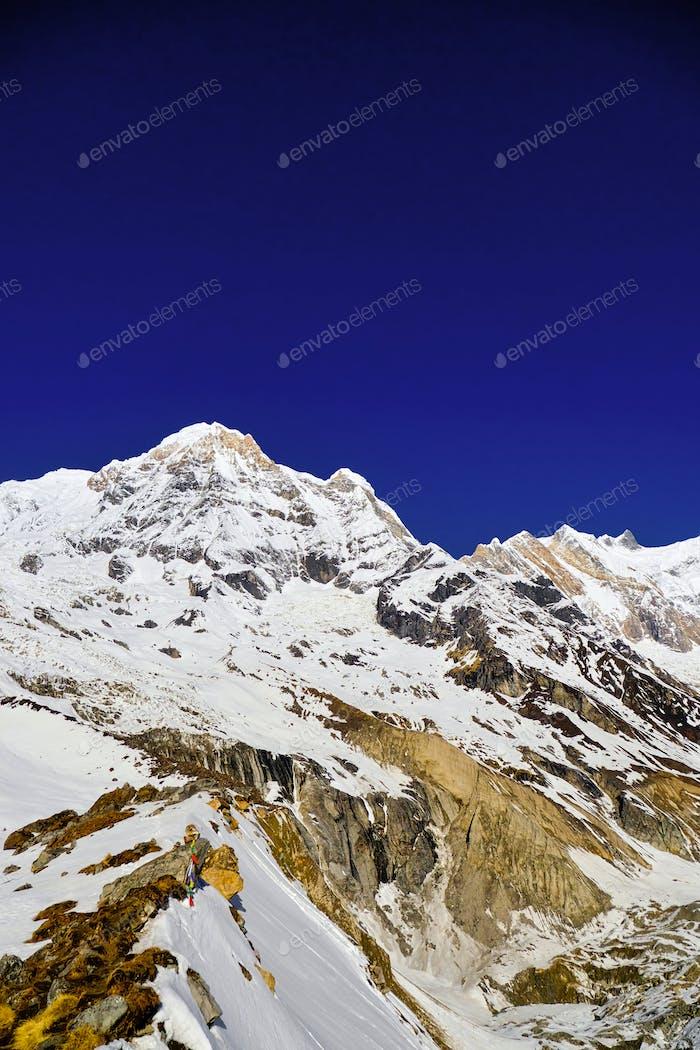 Annapurna South, Annapurna Range, Himalaya Mountain Range, Nepal