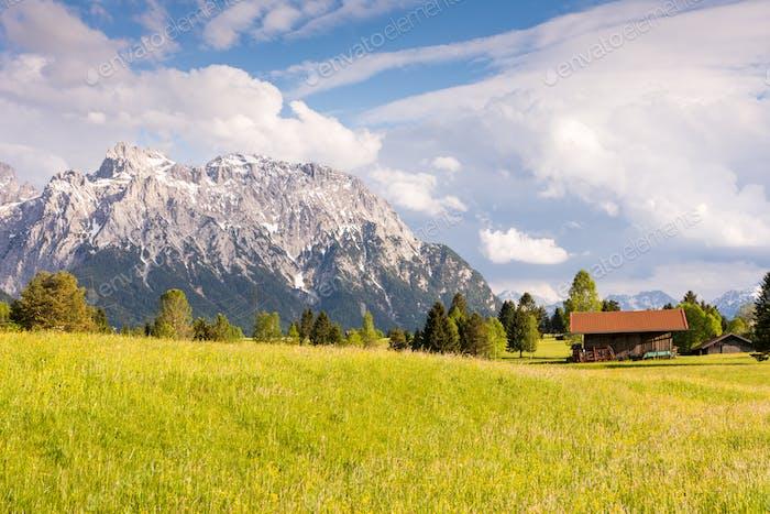 Alpenstall im Karwendelgebirge