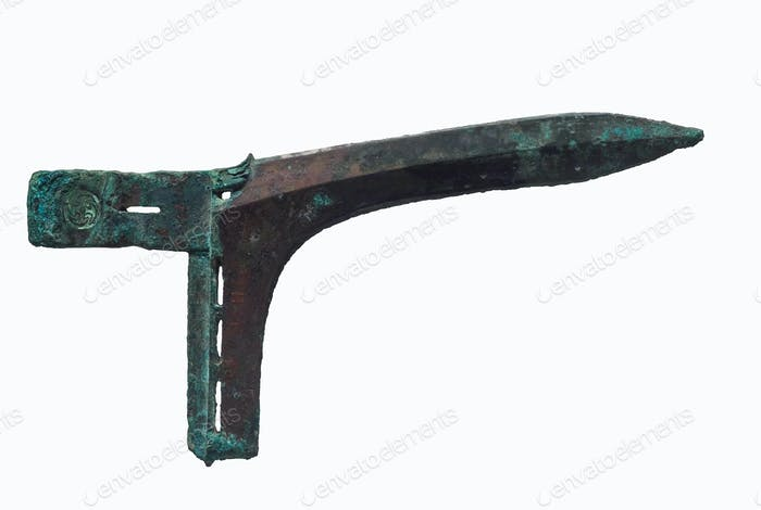 Chinesische alte Waffe, Dolchaxt