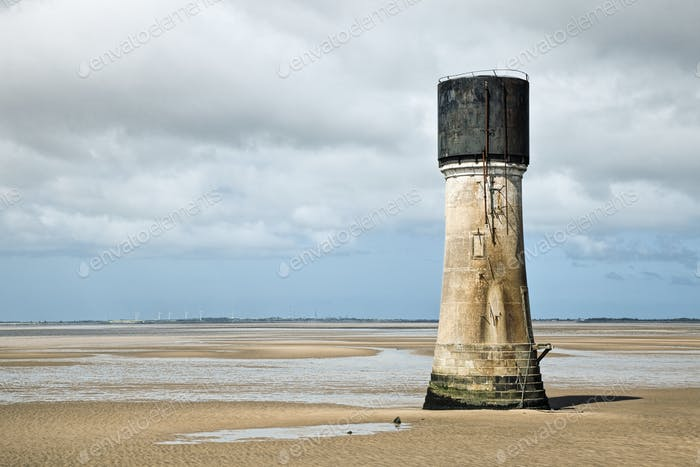 48991,Lighthouse at Low Tide